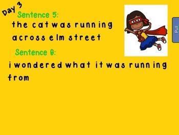 Fix Me Sentences Lesson 1