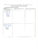 Fix Mistakes: Order of Operations
