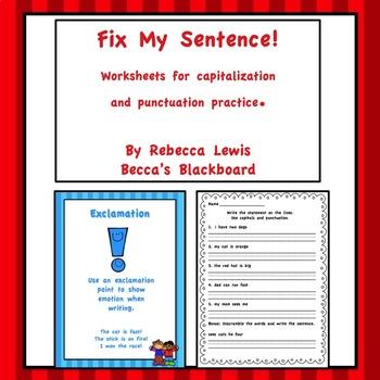 Fix My Sentence!