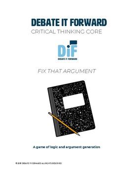 Fix That Argument