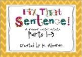 Fix That Sentence Parts 1-3 Bundle