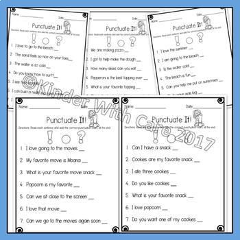 Fix That Sentence - Punctuation Practice