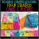 Reading Comprehension Fix-Up Strategy Cards and Posters