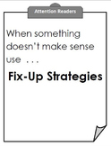 Fix Up Strategies for Reading