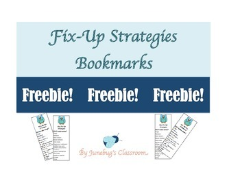 Fix Up Strategies Bookmarks