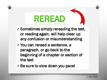 Fix-Up Strategies for Reading