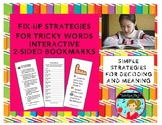 Fix-Up Strategies for Tricky Words and Decoding Interactive Bookmarks (2-sided)