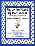 Fix Up the Mixed Up Sentences Activity and 5 Editing Assessments