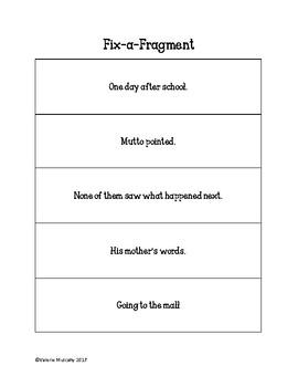 Fix-a-Fragment