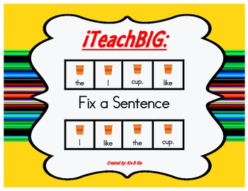 Fix a Sentence