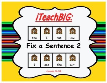 Fix a Sentence 2