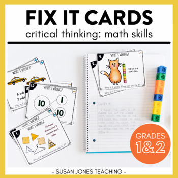 Fix it Math Cards!
