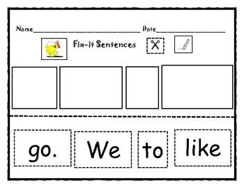 Fix-it Sentence #4