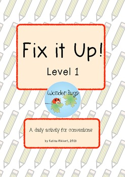 Fix it Up! Level 1