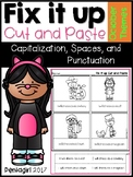 Fix it up Cut and Paste: Capitalization, Spaces, and Punct