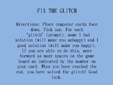 Fix the Glitch: A Social Skills Board Game