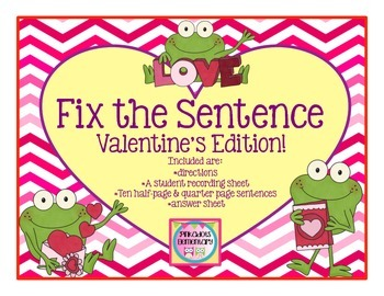Edit Around the Room: Valetine's Day Frog Edition! Editing
