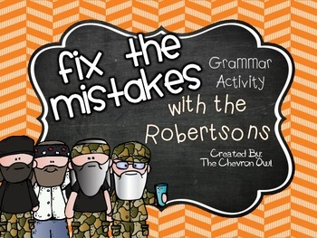 Fix the Mistakes With the Robertsons Duck Dynasty Grammar