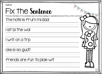 Fix the Sentence 2