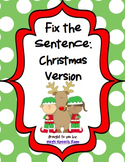 Fix the Sentence: Christmas