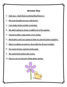 Fix the Sentence: Spring
