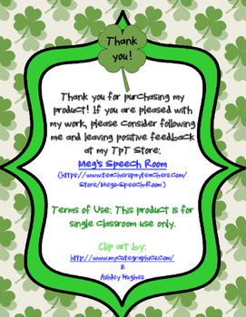 Fix the Sentence: St. Patrick's Day