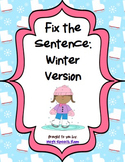 Fix the Sentence: Winter