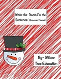 Fix It Up! Write-The-Room Winter Themed!
