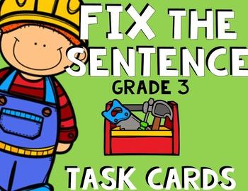 Fix the Sentences