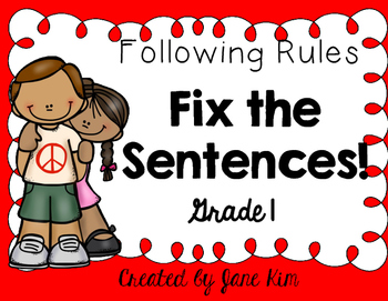 Fix the Sentences-Following Rules
