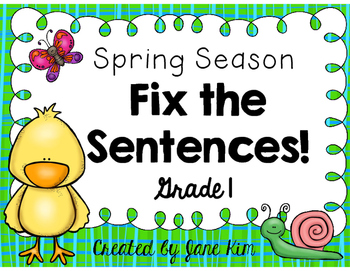 Fix the Sentences-Spring