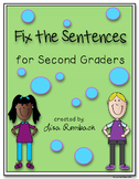 Fix the Sentences for Second Graders