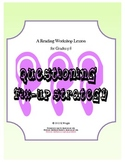 Fix-up Strategy Lesson for Reading Workshop