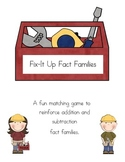 Fix-It Up Fact Families Game