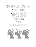 Fixed & Growth Mindset Lesson Plan