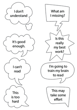 Fixed Growth Mindset Resources