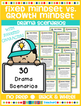 Fixed Mindset vs. Growth Mindset Drama Scenarios