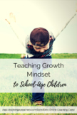 Fixed and Growth Mindset Posters for School-Aged Students