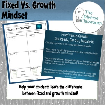 Fixed and Growth Mindset Unit