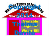 Fixed and Variable Expenses House