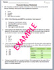 Fixed and Variable Expenses Worksheet - TEKS 4.10a
