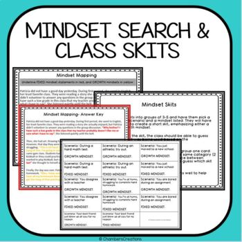 Fixed versus Growth Mindset Expansion Pack!