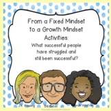 Fixed vs. Growth Mindset Activities  Famous Failures