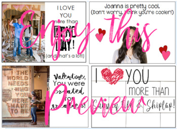 """Fixer Upper """"Magnolia"""" Themed Valentine's Day Cards"""