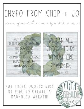 Fixer Upper Quotes - Shiplap + Magnolia