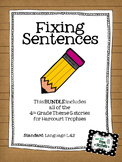 Fixing Sentences - Trophies Theme 5 BUNDLE