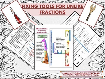 Fixing Tools for Unlike Fractions