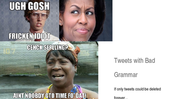 Fixing Tweets with Bad Grammar