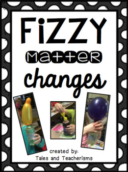 Fizzy Matter Experiment: Engaging Liquid and Gas Activity