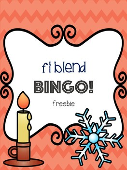 Fl Blend Bingo Freebie! [5 playing cards]